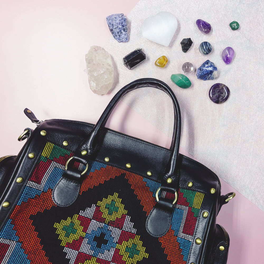 Bring your crystals anywhere with the  VESTI Jetsetter ! Get yours  here .