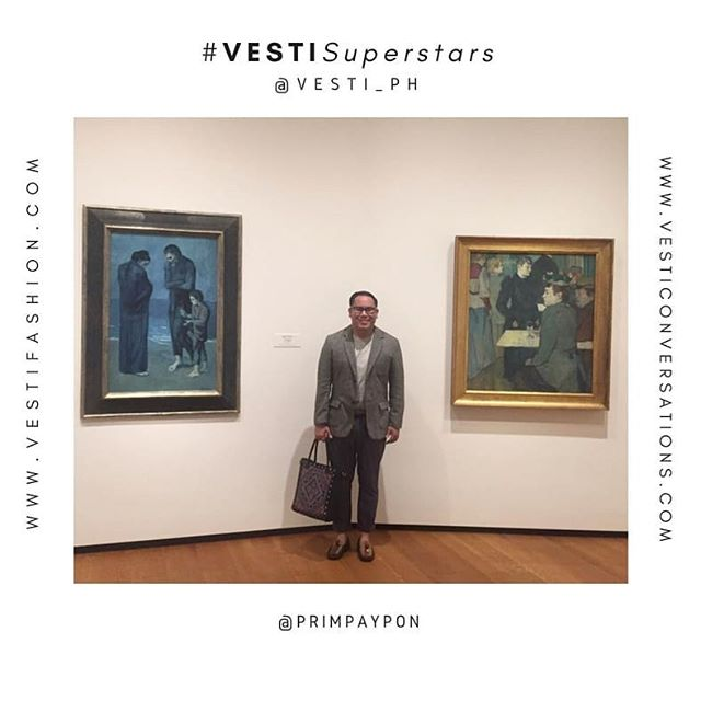 #VESTISuperstars  People who shine and inspire with their @vesti_ph stories and bags.  @primpaypon | Filipino Dreamgineer with his Nena Tote