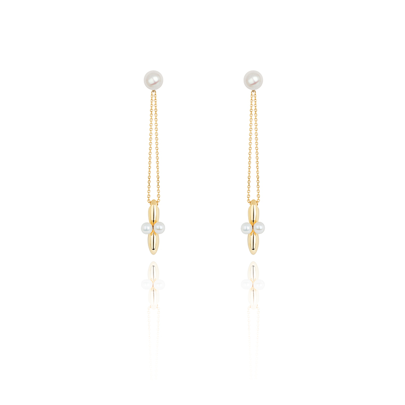 VENUS Collection chain earrings