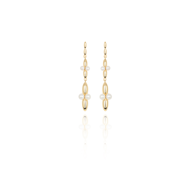 VENUS Collection long earrings