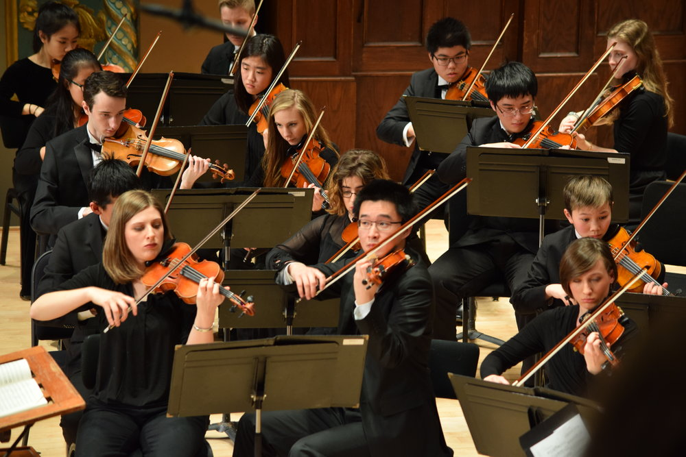 Classical String Auditions -
