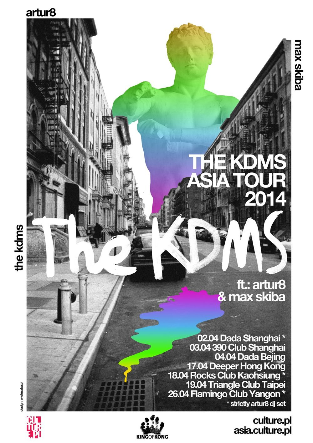 The KDMS Asian tour