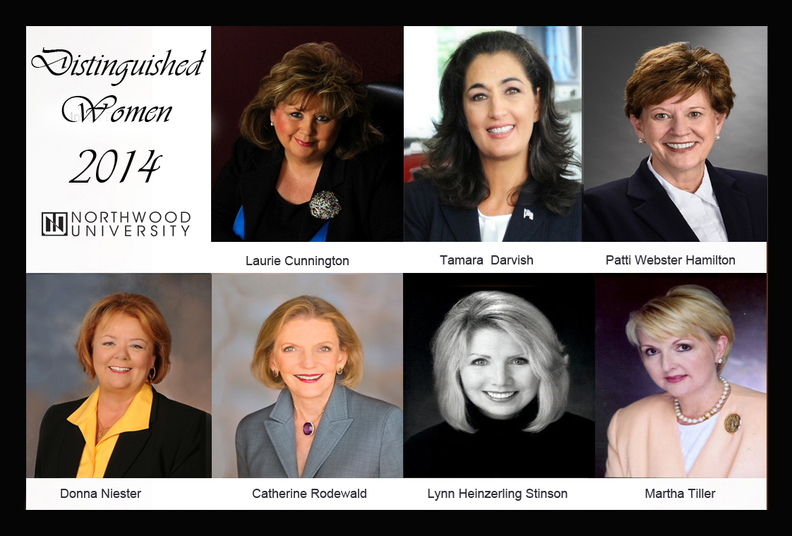 Distinguished Women - Combined Photos - With Border - 9-28-20141