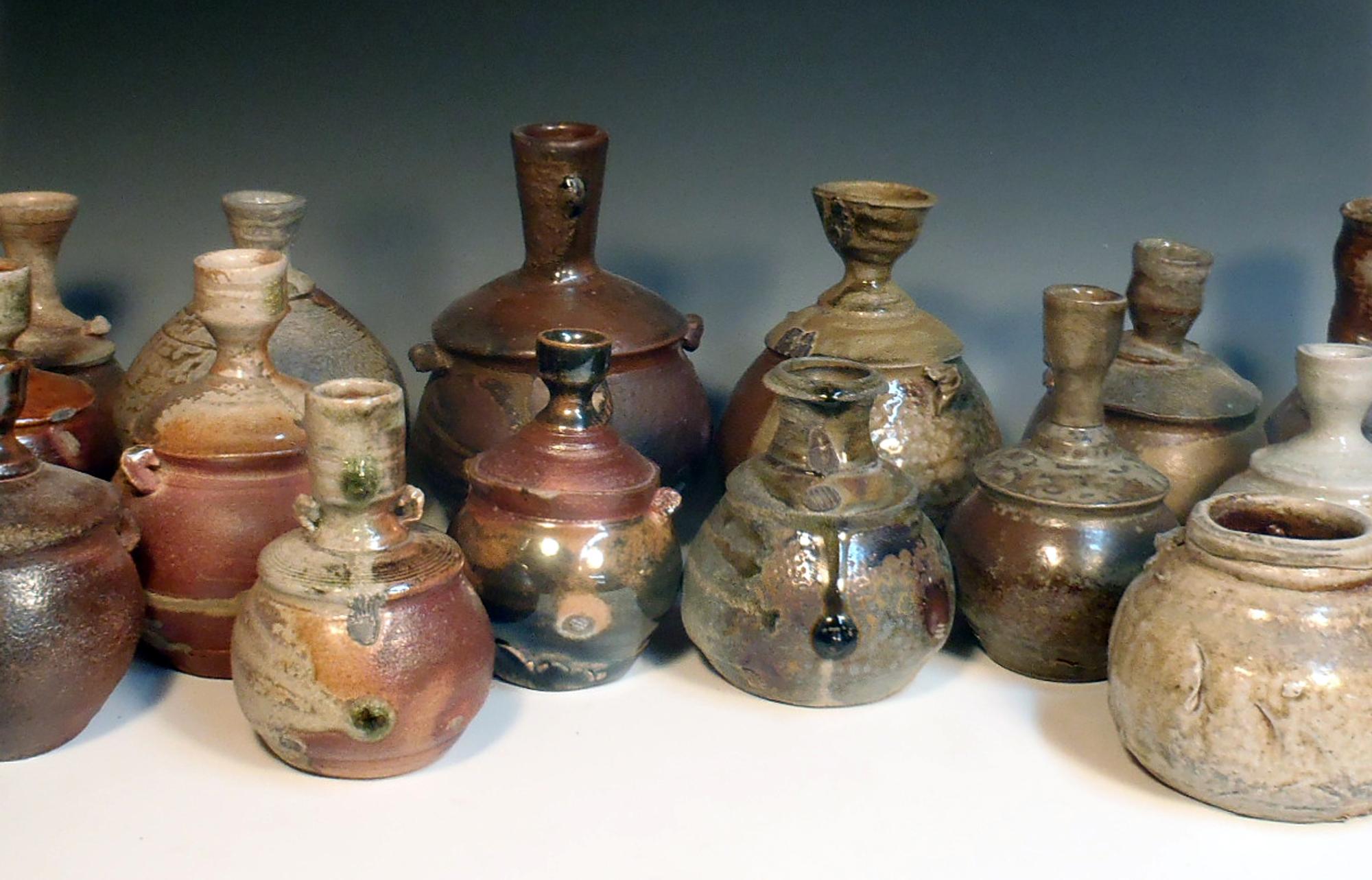 Ryan Taylor, Wood Fired Ceramic Vessels 4.