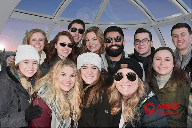 Northwood's short-term study abroad trip to London is having a great time exploring history and experiencing the culture!