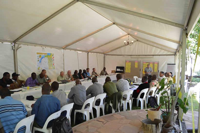 Sebungwe workshop at Musango Safari Lodge