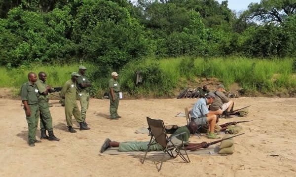 Weapon refresher courses have been run at three Park's stations across the Valley. Shooting skills have measurably improved, individual confidence levels are boosted and team moral uplifted.  (Implemented by the Zambezi Society).