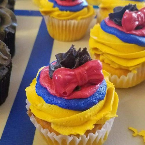 Disney-themed cupcakes