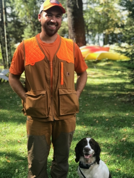 Kevin is an outdoorsman. He enjoys bird hunting with our dog and fishing.