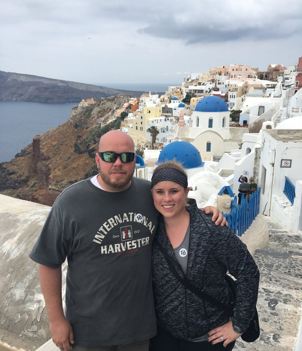 honeymooning in greece