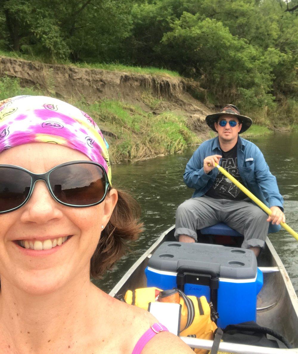 canoeing on the kickapoo
