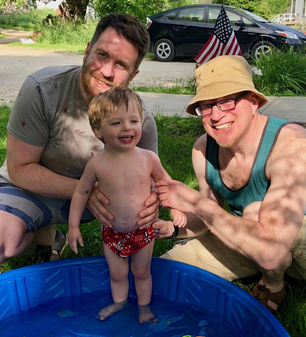 Evan, Desmond and Chad - 4th of July