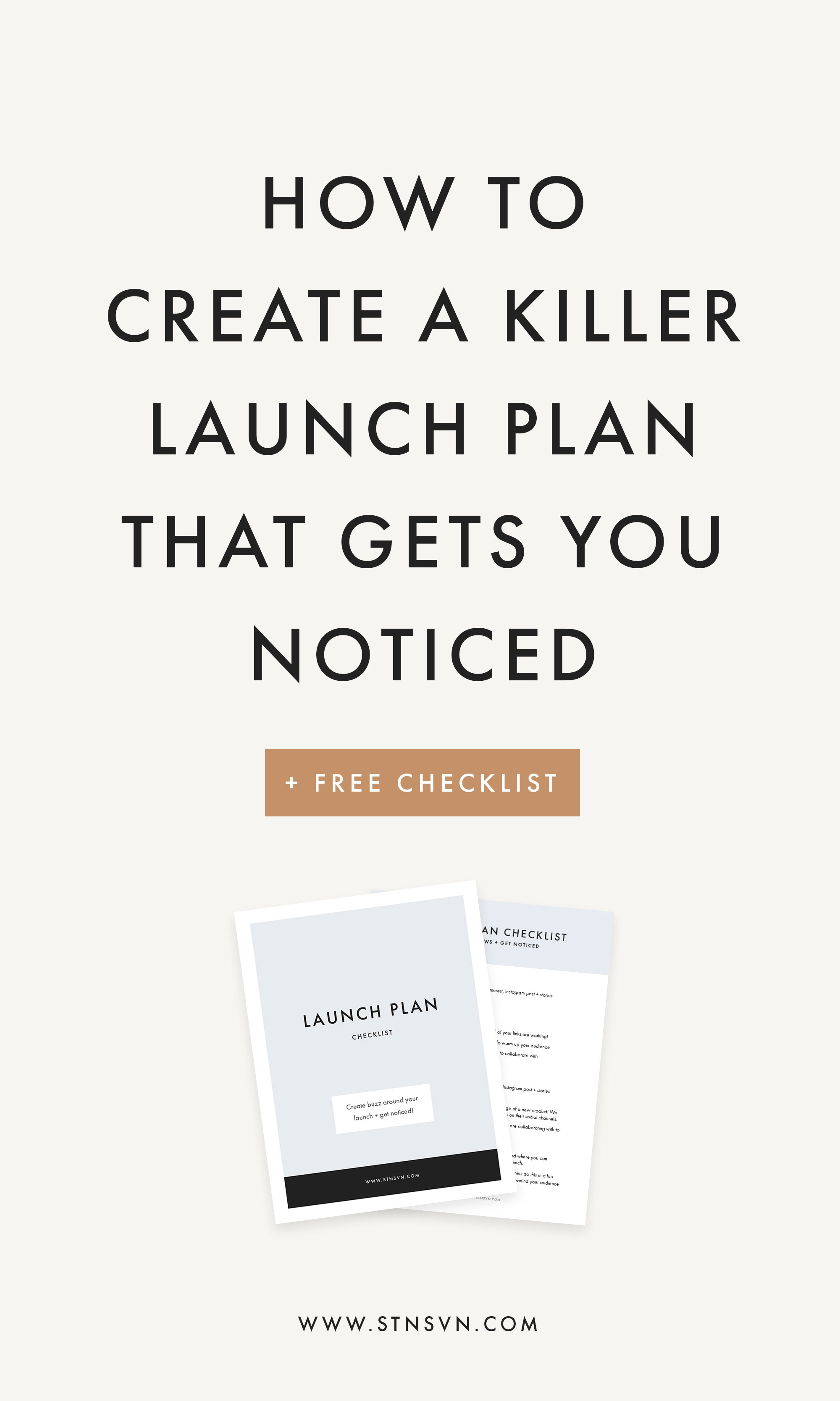 How To Create A Killer Launch Plan That Gets You Noticed Station Seven Squarespace Templates Squarespace Courses Canva Templates And Free Resources For Creative Entrepreneurs