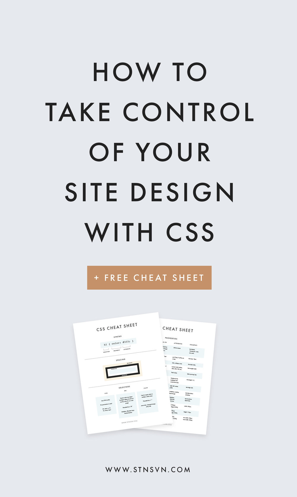 Own Your Site Design An Intro To CSS For Bloggers Jpeg