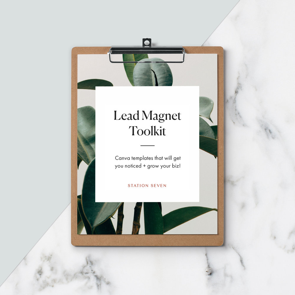 lead magnet toolkit station seven squarespace templates wordpress themes and free resources for creative entrepreneurs