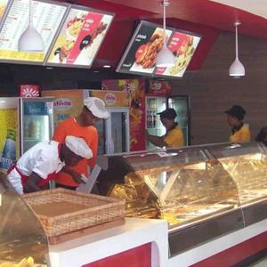 "Sundry Foods Limited - NigeriaA leading food services provider in Nigeria. It operates a chain of quick service restaurants around the country in Lagos, Port Harcourt, Abuja and a number of other Nigerian cities.Sundry Foods is well known for its brand-name ""Kilimanjaro', which has established itself as a market leader in that sector. Sundry Foods has developed a fast food concept, which combines traditional Nigerian cuisine with western fast food and is targeted at the fast growing middle class market."