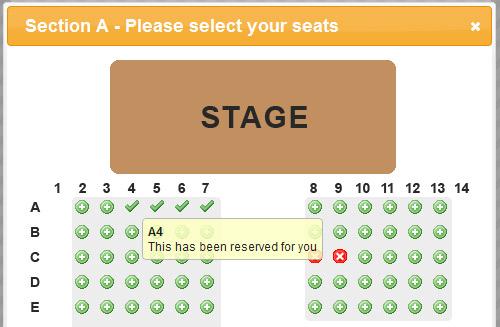 WSO Seating Plan