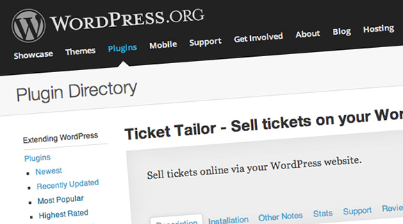 Sell Tickets Wordpress