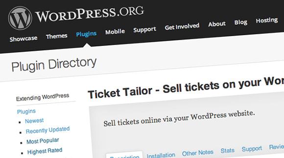 Sell Tickets Wordpress