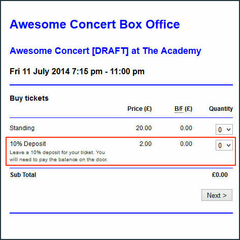 Preview Box Office