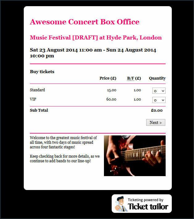 8 Customised Box Office 2