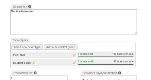 Tickets Hidden