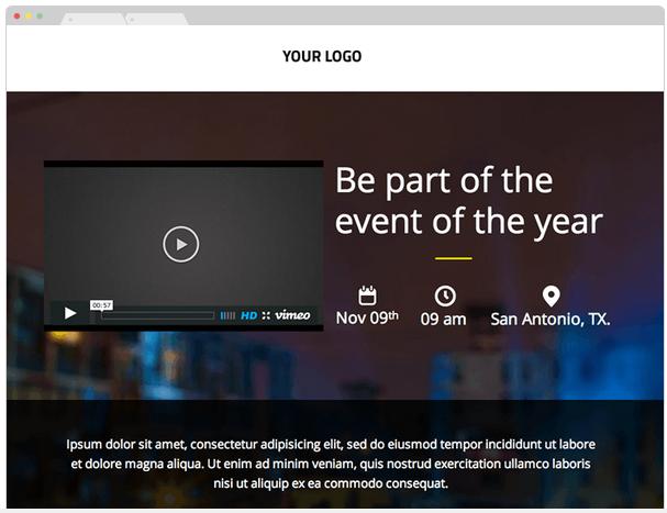 lander event page