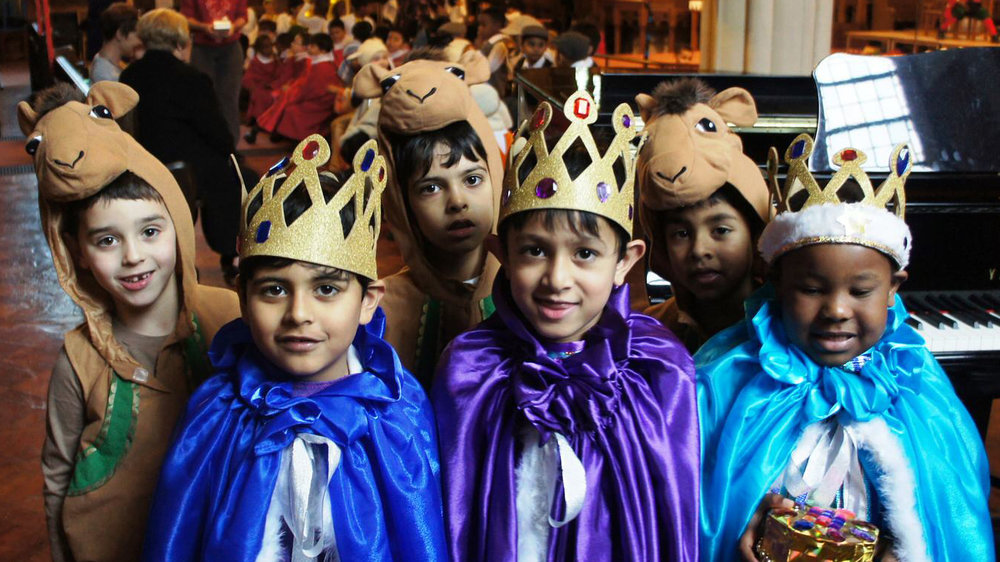 Cumnor house school nativity play. photo credit cumnor house school