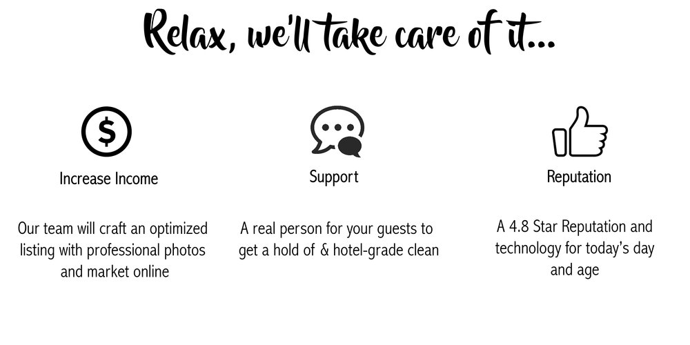 Relax, we will take care of it.