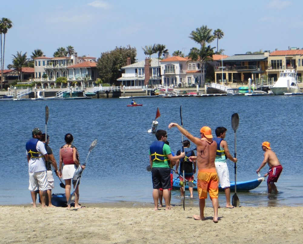 The Long Beach Bay