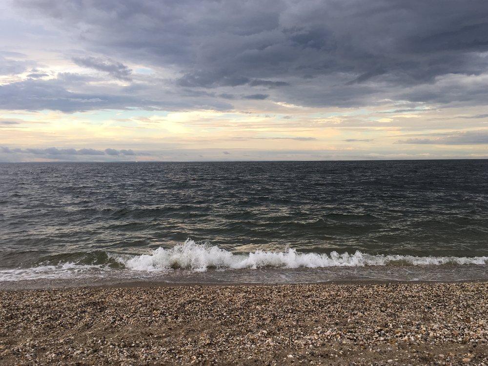 Long island sound, summer 2018