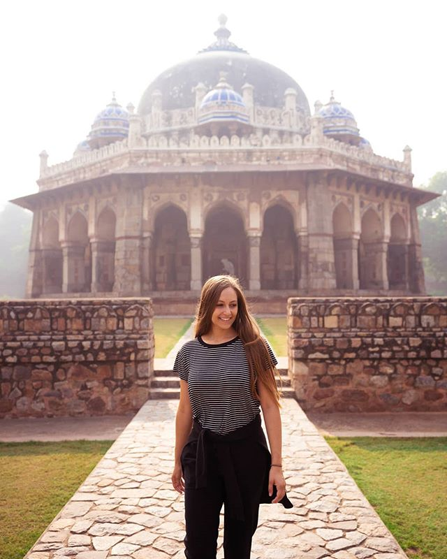 One of my favorite parts of travel is learning more about the history and culture of a certain place. And India is no exception! It is so fun to be here just to learn more about the country! 🌏❤️✈️ #travelinhershoes#travelinspiration#travelgirlsgo#goexplore#adventureseeker#india#visitindia#delhi#digitalnomads#travelvlogger#vlogger#femmetravel#radgirlscollective#laptoplifestyle#wildways#backpackerstory#dametraveler#theglobewanderer#passionpassport#travelawesome