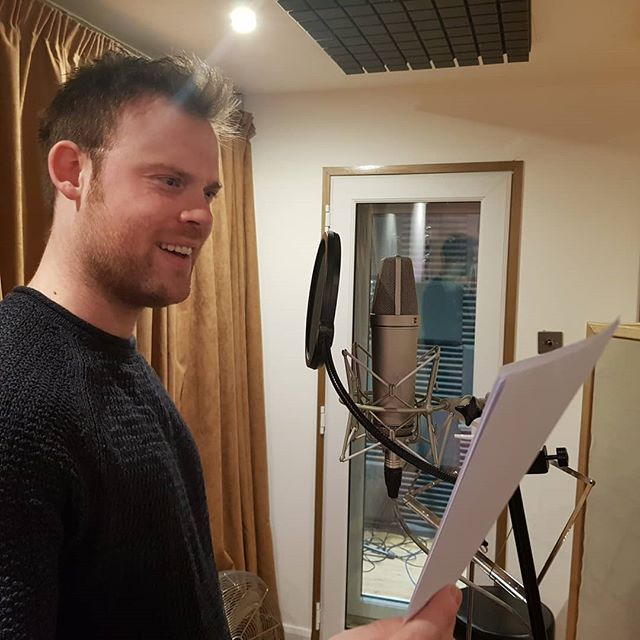 Great day recording @tristanpate #voicereel today.great job Tristan!  #voicereels #voiceover #vo