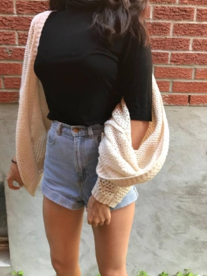 Comfy but chic look