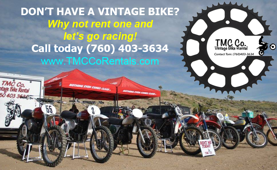 TMC Company Rentals - Want to race without the hassle of having to bring your bike?To find out more, click here!
