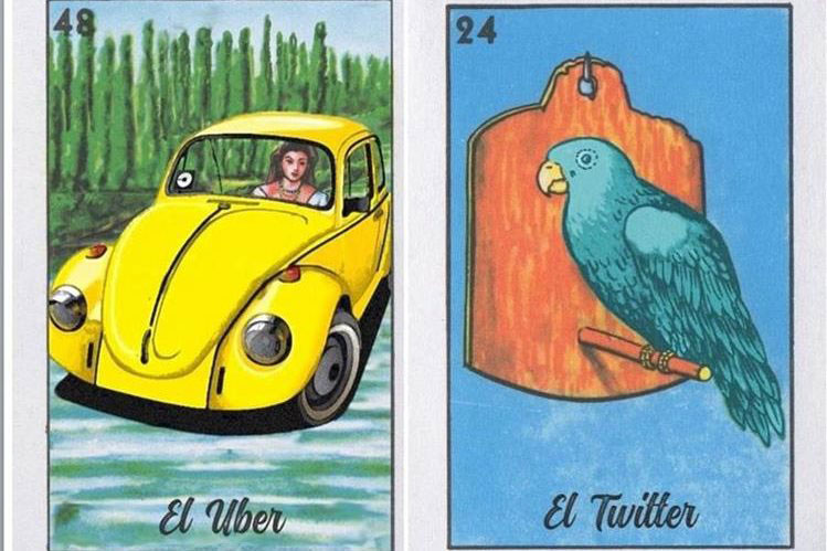 Millenial Loteria. Because that's who we are.