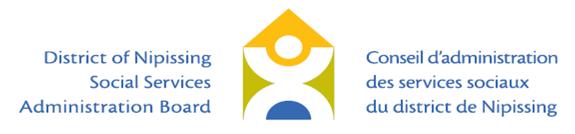 Conseil d'administration des services sociaux du district de Nipissing