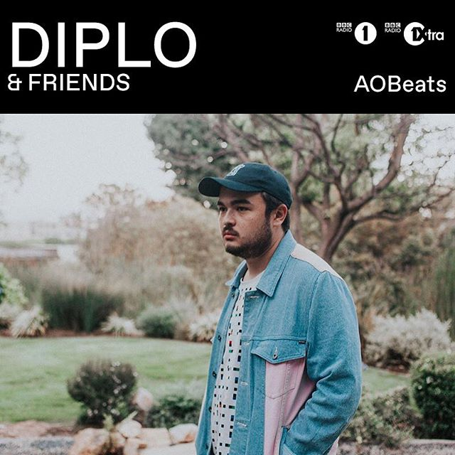 @aobeats is currently LIVE on @diplo & friends on  maddecent.fm/diploandfriends 📻