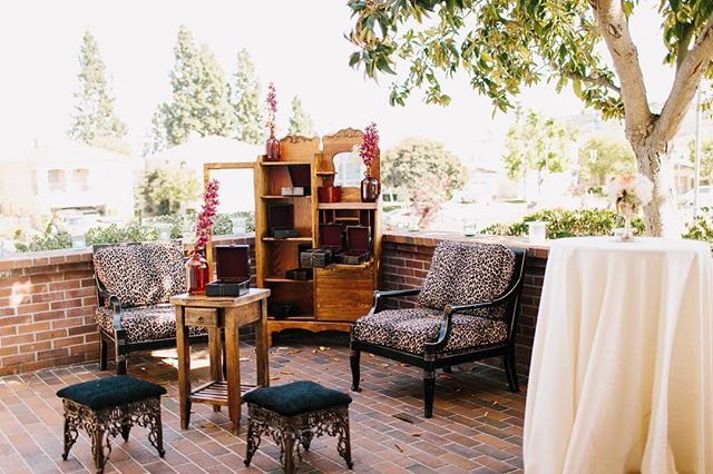 There are so many ways to utilize our patio areas, like having a cigar lounge! Photo by Dawn Alexandria Photography