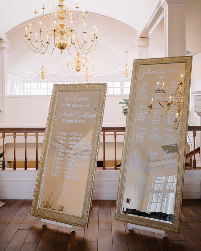 Definitely an eye catching seating chart by @lovepcalligraphy  Featured in @ceremonymagazine  Photo @stephaniefongphotography Coordination @nicolemanaloevents