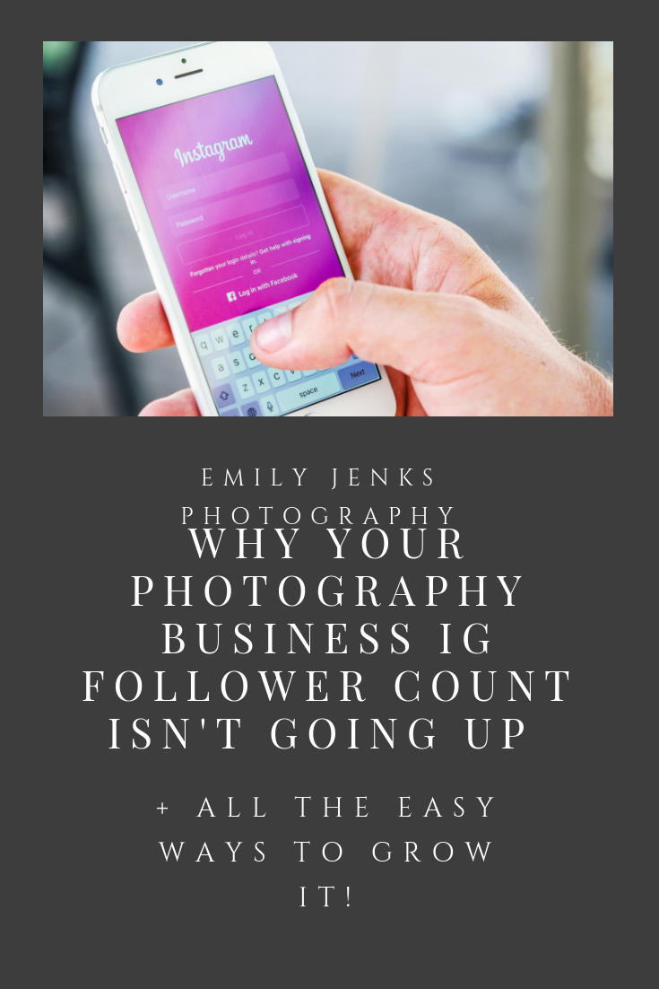 Strategies to grow your IG followers account for photographers! #instagram #socialmediagrowth #socialmedia #photographerbusiness #photographybusiness