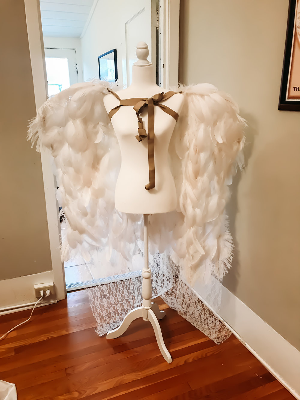 Front is all goose feathers