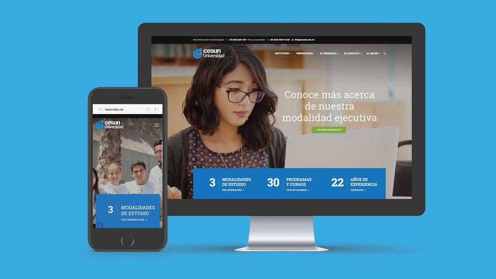 Cesun Universidad - Diseño Web - Moode