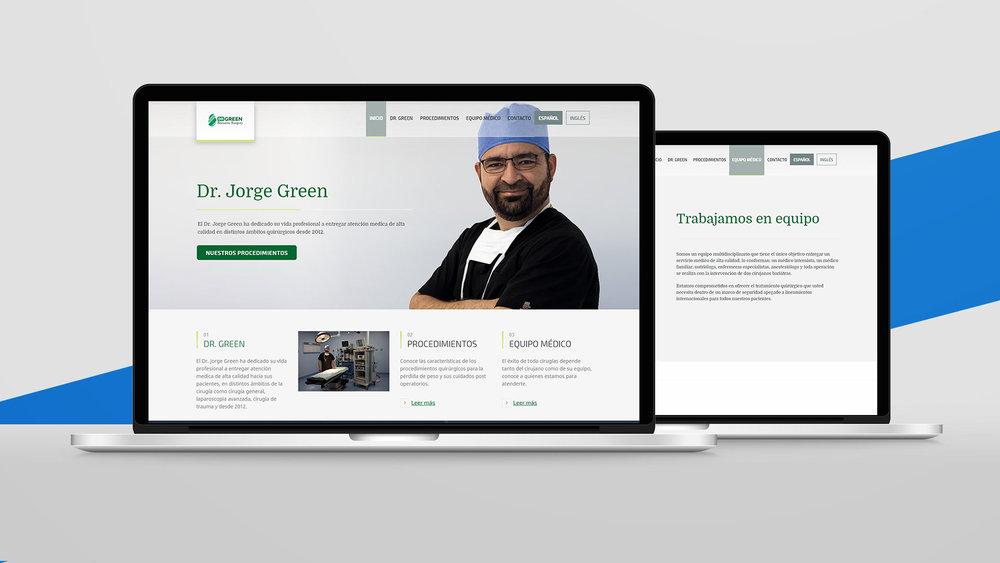 Dr. Jorge Green - Desarrollo Web - Social Media