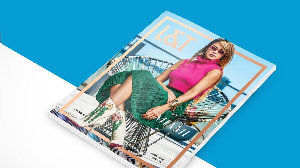 Diseño y diagramación Revista L&T