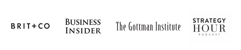 Featured in Business Insider & The Gottman Institute