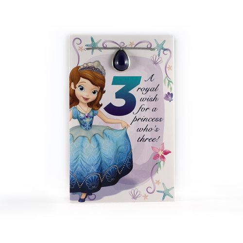 Princess Sophia 3rd Birthday Card Melanie Joyce Design
