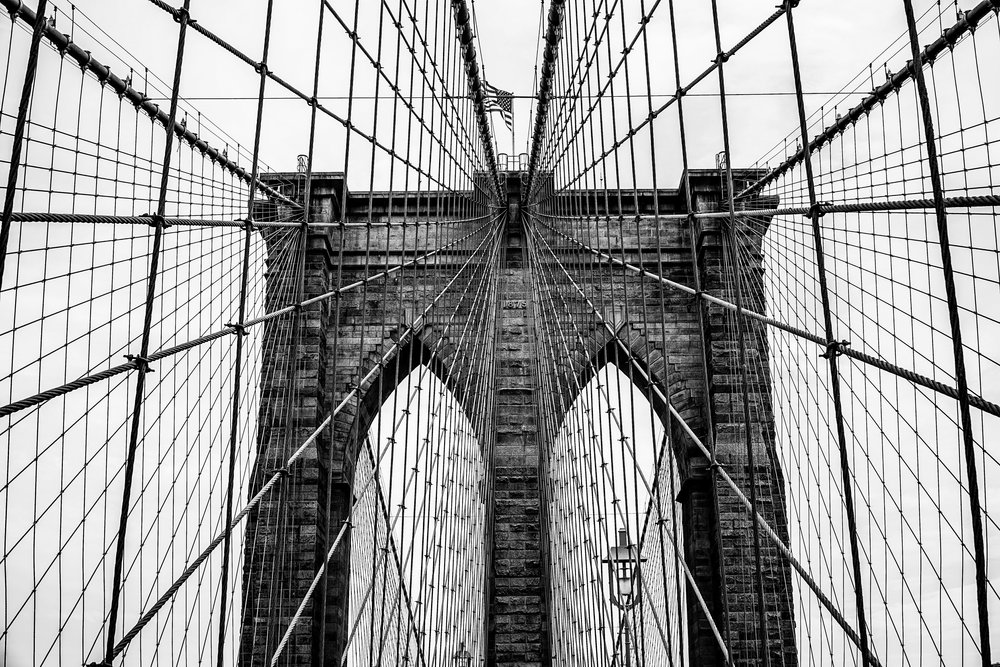 Brooklyn Bridge Black and White.JPG
