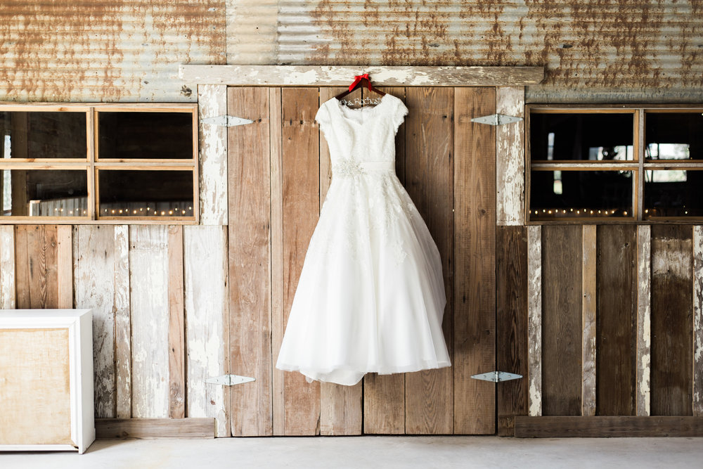 Wedding Dress - Vintage Barn
