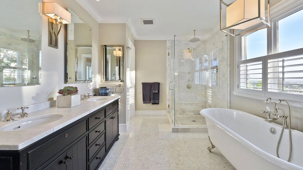 Hillside Master Bathroom